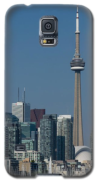 Up Close And Personal - Cn Tower Toronto Harbor And Skyline From A Boat Galaxy S5 Case