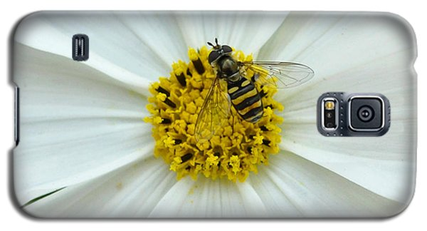 Up Close With The Bee And The Cosmo Galaxy S5 Case by Verana Stark
