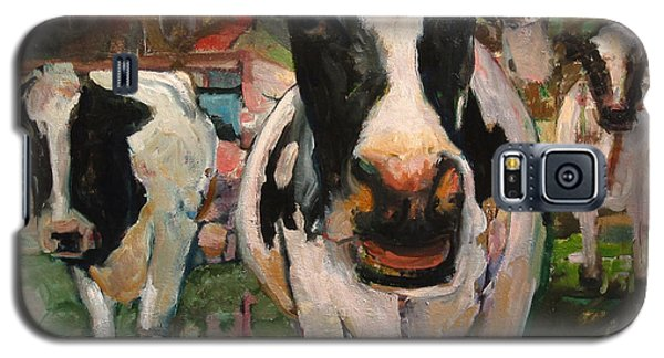 Up Front Cows Galaxy S5 Case