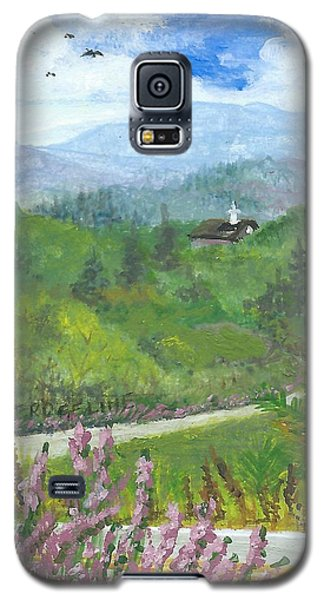 Up In The Mountains Galaxy S5 Case
