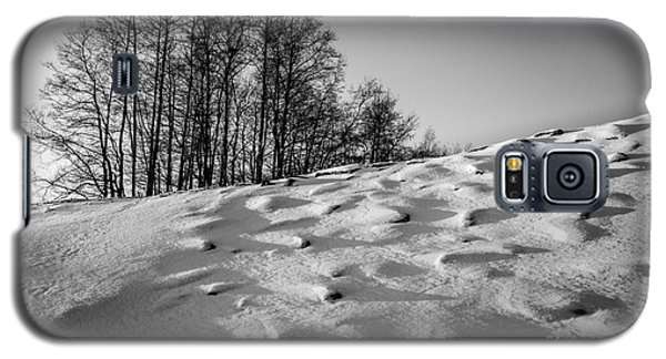 Up To The Hill Bw Galaxy S5 Case
