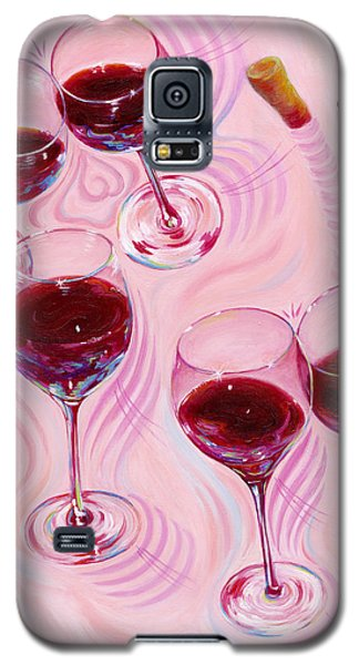 Galaxy S5 Case featuring the painting Uplifting Spirits  by Sandi Whetzel