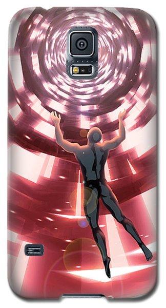 Galaxy S5 Case featuring the digital art Upload by Matt Lindley