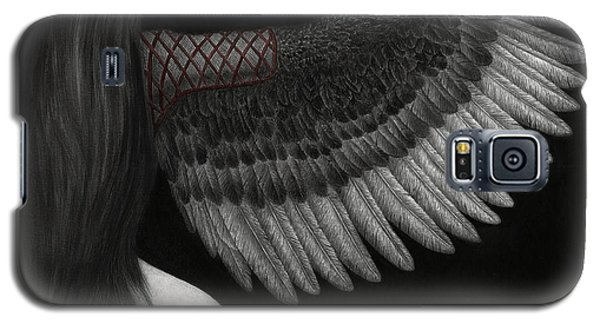 Upon Ashen Wings Galaxy S5 Case