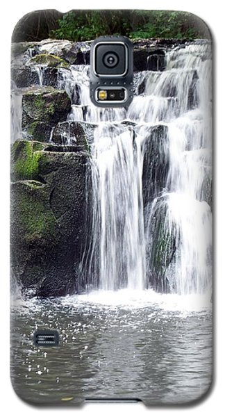 Galaxy S5 Case featuring the photograph Upper Beaver Falls by Chalet Roome-Rigdon