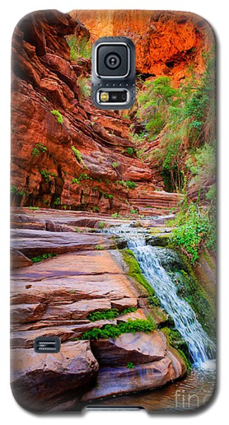 Elf Galaxy S5 Case - Upper Elves Chasm Cascade by Inge Johnsson