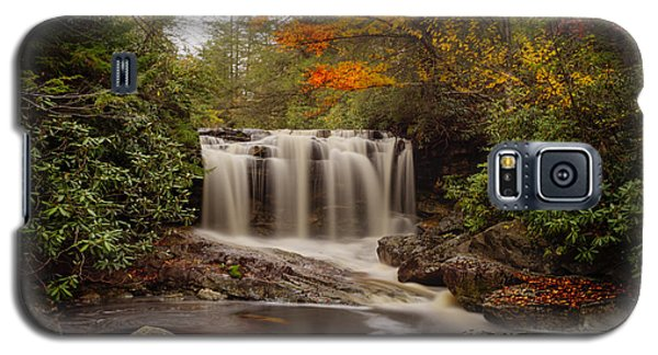 Upper Falls Waterfall On Big Run River  Galaxy S5 Case