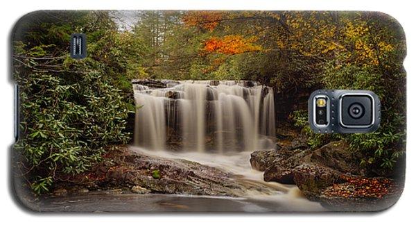 Upper Falls Waterfall On Big Run River  Galaxy S5 Case