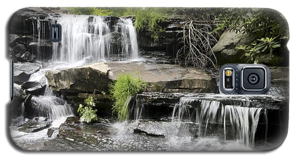 Upper Goose Creek Falls Galaxy S5 Case by Robert Camp