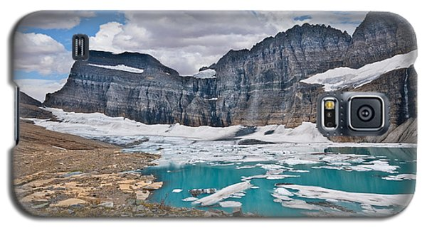Upper Grinnell Lake And Glacier Galaxy S5 Case