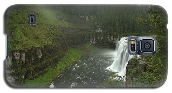 Upper Messa Falls Galaxy S5 Case