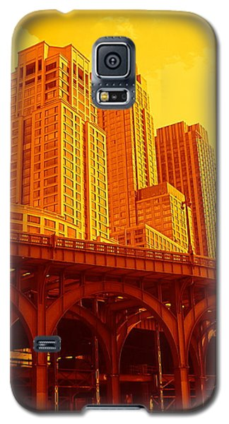 Upper West Side And Hudson River Manhattan Galaxy S5 Case