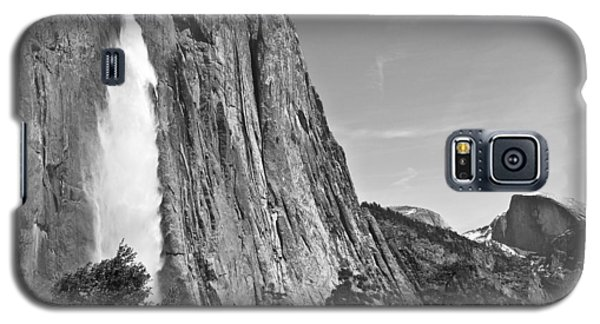 Upper Yosemite Fall With Half Dome Galaxy S5 Case