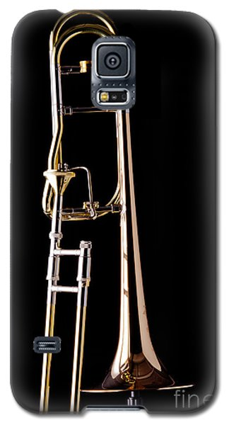 Upright Rotor Tenor Trombone On Black In Color 3465.02 Galaxy S5 Case
