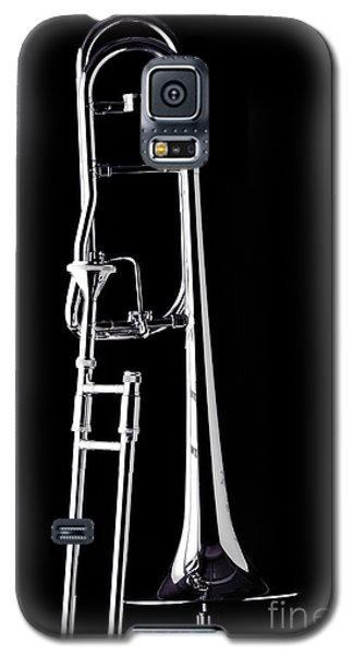 Upright Rotor Tenor Trombone On Black In Sepia 3465.01 Galaxy S5 Case