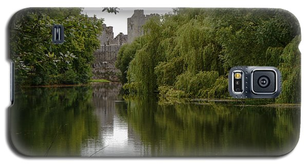 Upriver From Cahir Castle Galaxy S5 Case