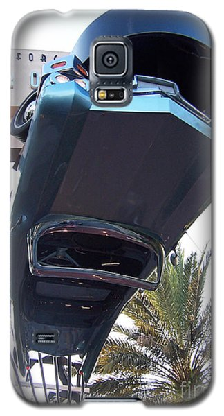 Galaxy S5 Case featuring the photograph Upside Down Car by Tom Doud