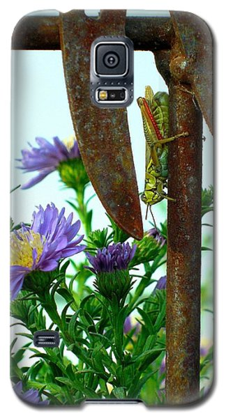 Galaxy S5 Case featuring the photograph Upside Down by Heidi Manly