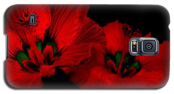 Urban Art Hibiscus 6 Galaxy S5 Case