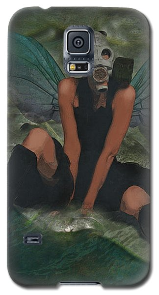 Galaxy S5 Case featuring the digital art Urban Fairy by Galen Valle