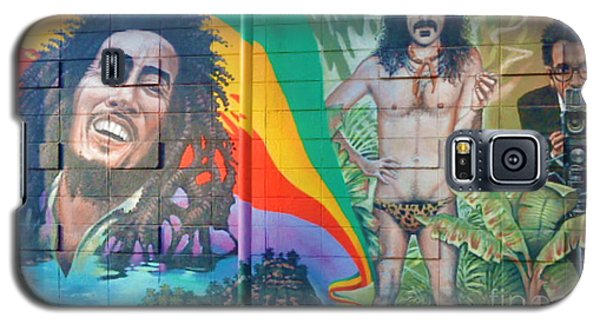 Galaxy S5 Case featuring the photograph Urban Graffiti 1 by Janice Westerberg