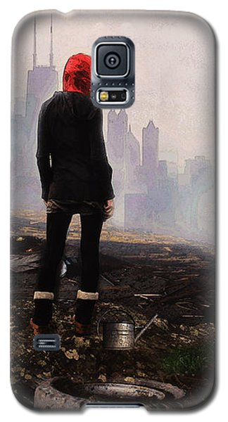 Galaxy S5 Case featuring the digital art Urban Human by Galen Valle