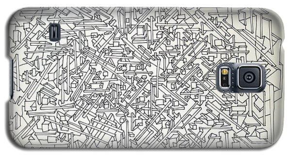 Galaxy S5 Case featuring the drawing Urban Planning by Nancy Kane Chapman