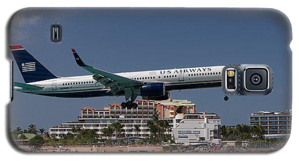U S Airways At St Maarten Galaxy S5 Case by David Gleeson