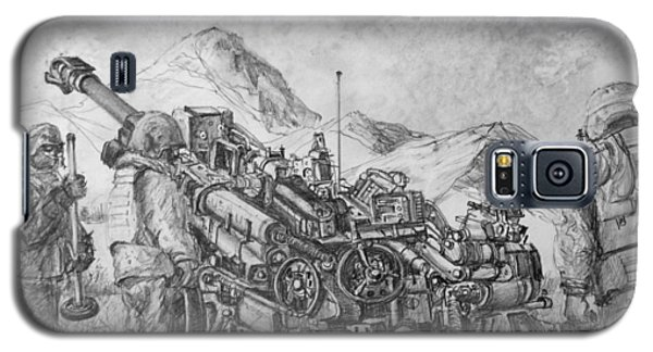 Us Army M-777 Howitzer Galaxy S5 Case by Jim Hubbard