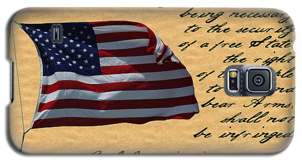 Us Constitution 2nd Amendment Flag Galaxy S5 Case by Robyn Stacey