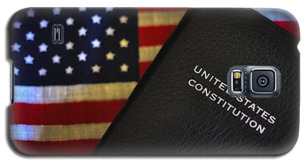 United States Constitution And Flag Galaxy S5 Case