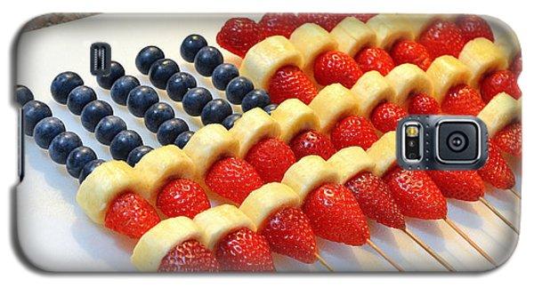 American Flag Fruit Kabobs Galaxy S5 Case
