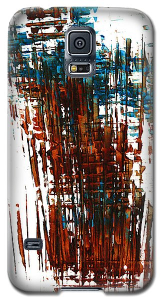 Galaxy S5 Case featuring the painting Us In The Divine 264.111011 by Kris Haas