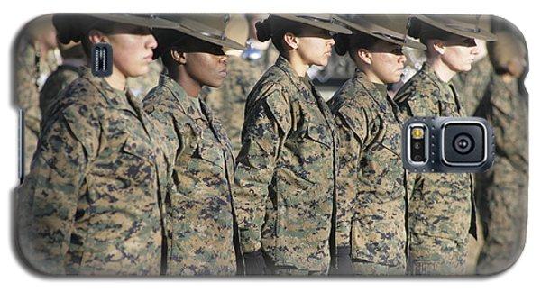 U.s. Marine Corps Female Drill Galaxy S5 Case