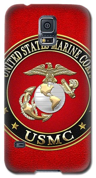 U. S. Marine Corps - U S M C Emblem Special Edition Galaxy S5 Case