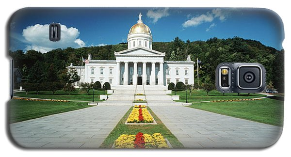 Capitol Building Galaxy S5 Case - Usa, Vermont, Montpelier, Vermont State by Walter Bibikow
