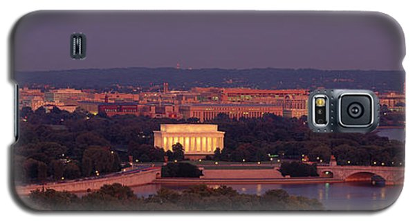 Usa, Washington Dc, Aerial, Night Galaxy S5 Case