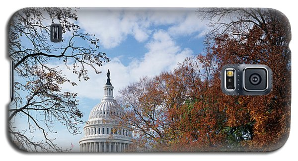 Capitol Building Galaxy S5 Case - Usa, Washington Dc, View Of Capitol by Scott T. Smith
