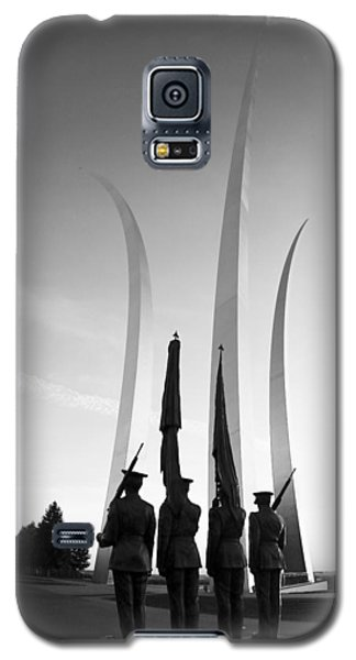 Usaf Memorial Galaxy S5 Case by Mitch Cat