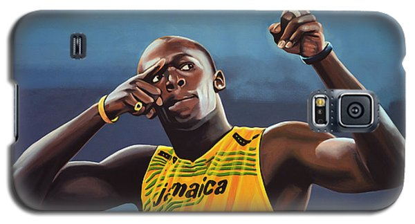 Usain Bolt Painting Galaxy S5 Case