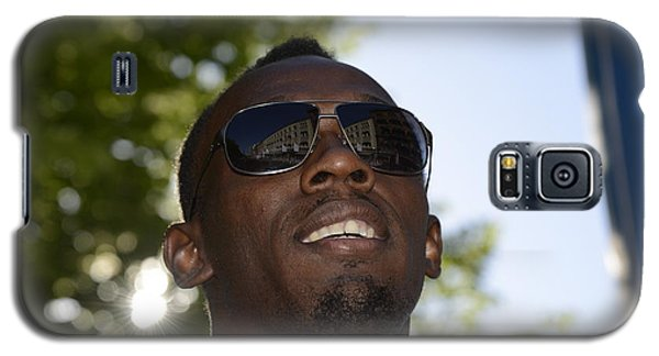Usain Bolt - The Legend 1 Galaxy S5 Case by Teo SITCHET-KANDA
