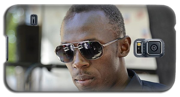 Usain Bolt - The Legend 3 Galaxy S5 Case by Teo SITCHET-KANDA
