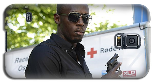 Usain Bolt - The Legend 4 Galaxy S5 Case by Teo SITCHET-KANDA