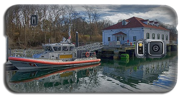 Usgs Castle Hill Station Galaxy S5 Case by Joan Carroll