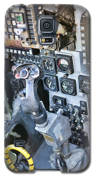 Usmc Av-8b Harrier Cockpit Galaxy S5 Case by Olga Hamilton