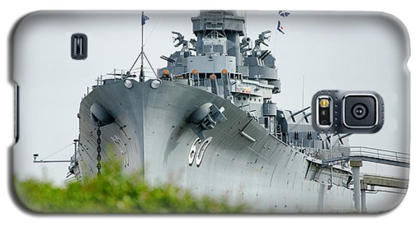 Galaxy S5 Case featuring the photograph Uss Alabama 2 by Susan  McMenamin