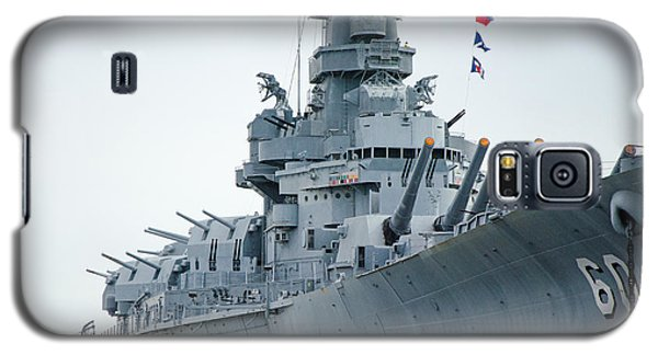 Galaxy S5 Case featuring the photograph Uss Alabama 3 by Susan  McMenamin