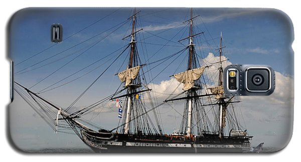Uss Constitution - Featured In Comfortable Art Group Galaxy S5 Case