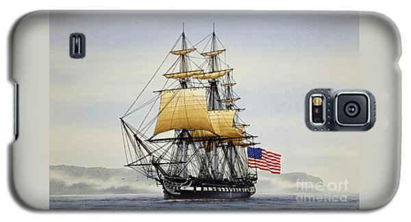 Boston Galaxy S5 Case - Uss Constitution by James Williamson
