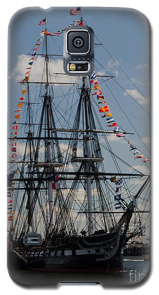 Galaxy S5 Case featuring the photograph Uss Constitution by Mike Ste Marie